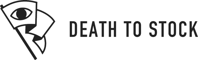 death to stock photo logo