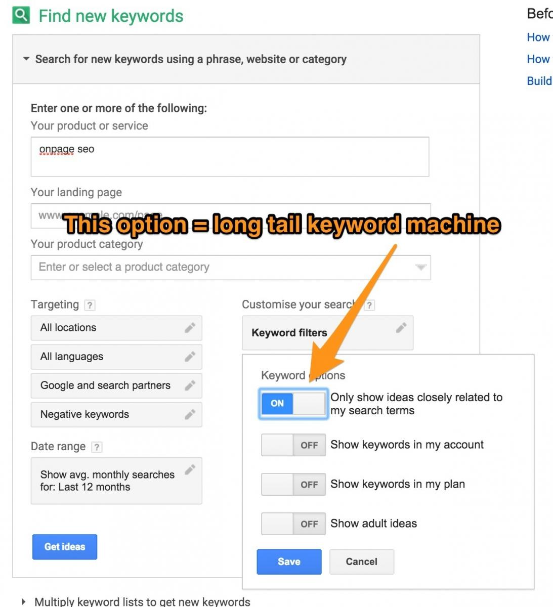 how to get sub links in google search