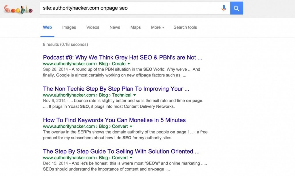 Onpage SEO Checklist: Get More Search Traffic Without Links