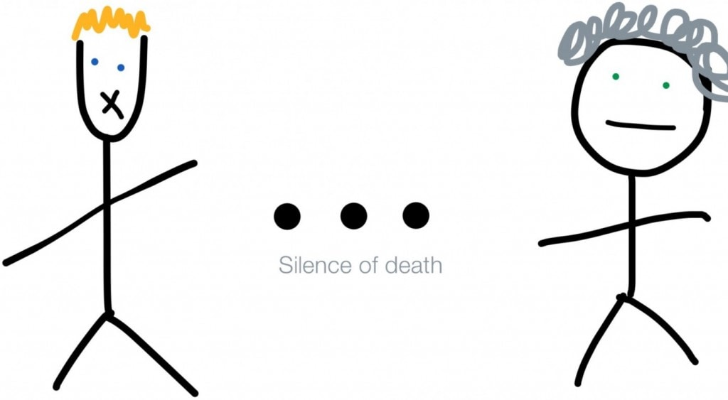 silence graphic