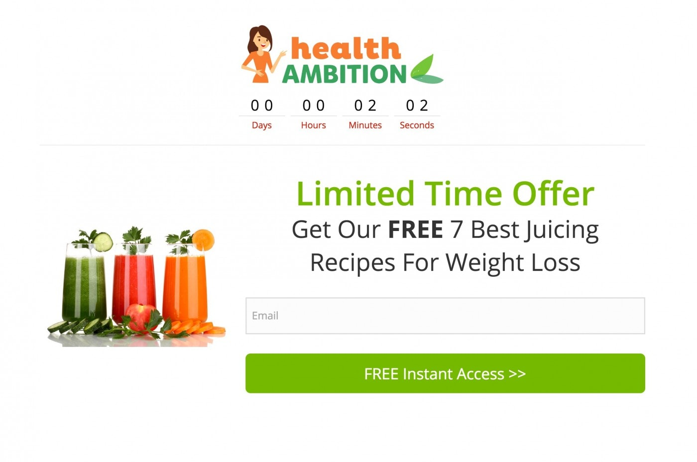 HealthAmbition juicing opt in