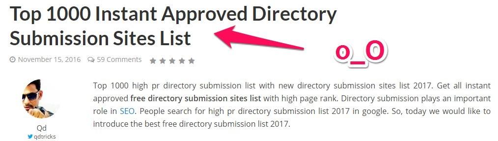 directories link building