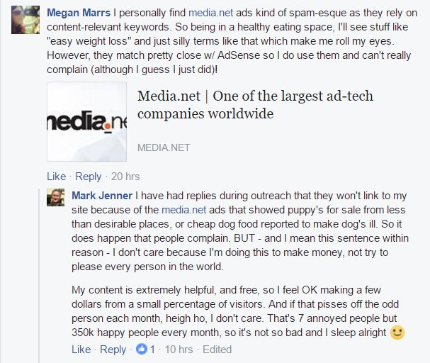 Megan Marrs Media.net review