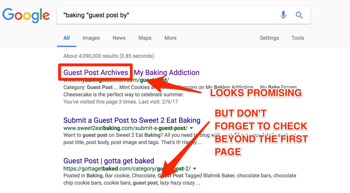Google advanced query search
