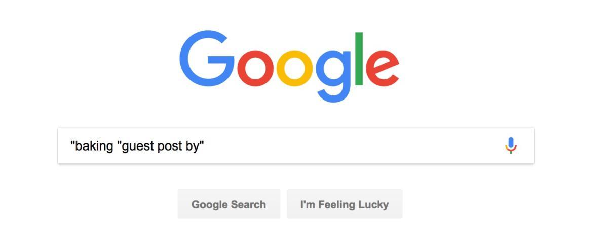 Google advaced query