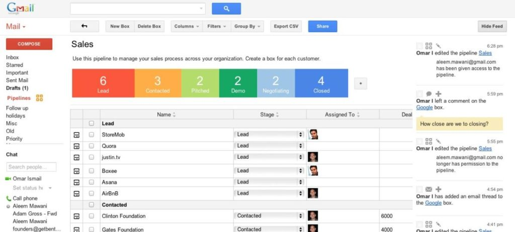 Gmail CRM
