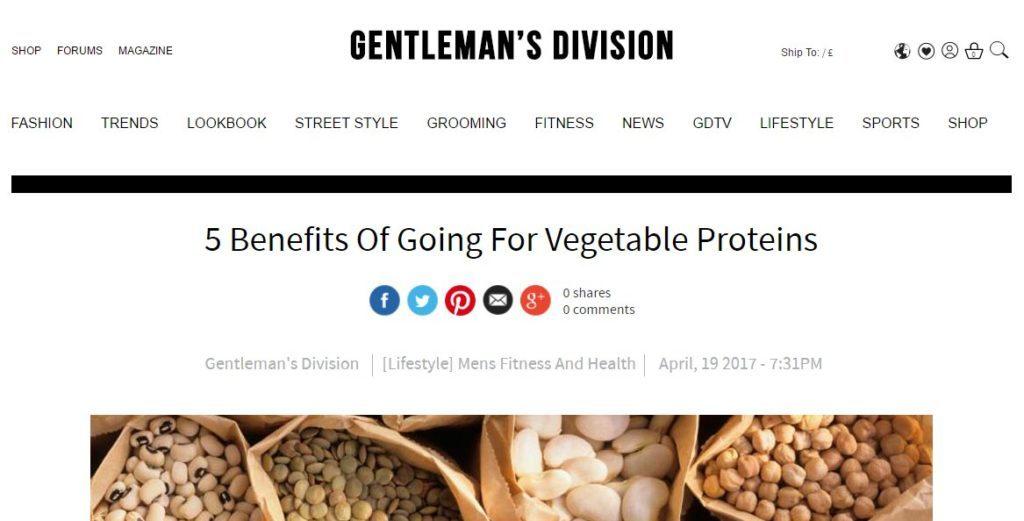Gentelman's Division Post
