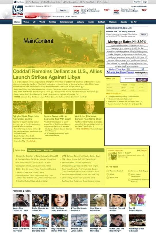 Main Content (MC) example