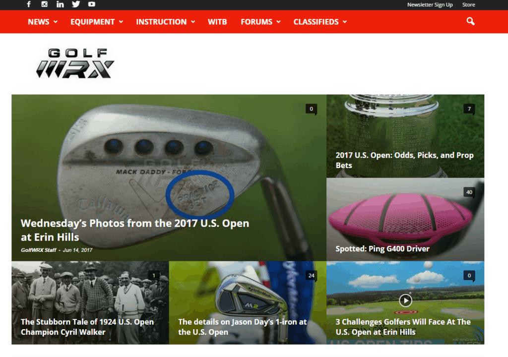 Golf WRX Homepage