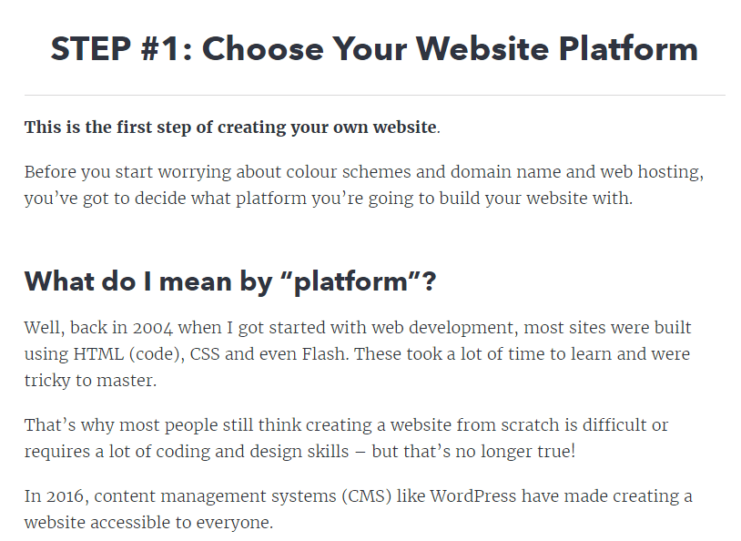 how to launch and set-up a website, including hosting