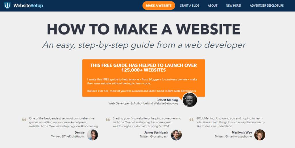 WebsiteSetup.org