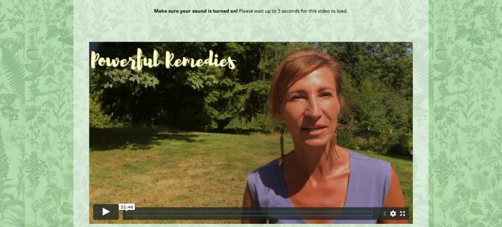 The Lost Boof Of Remedies Homepage Screenshot