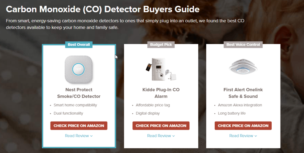 Safewise CO detector buyers guide