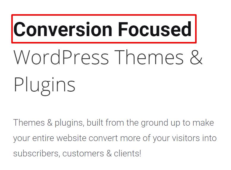 Conversion Focused WP Plugins