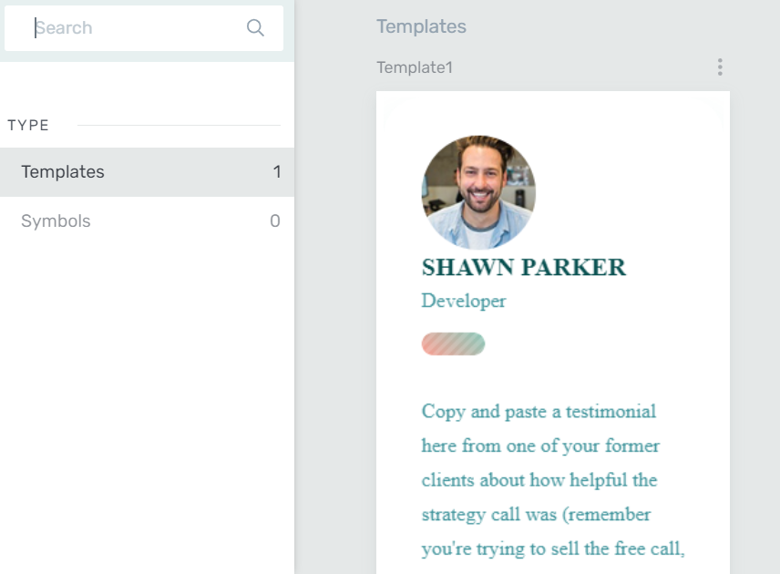 Thrive Architect Template Search