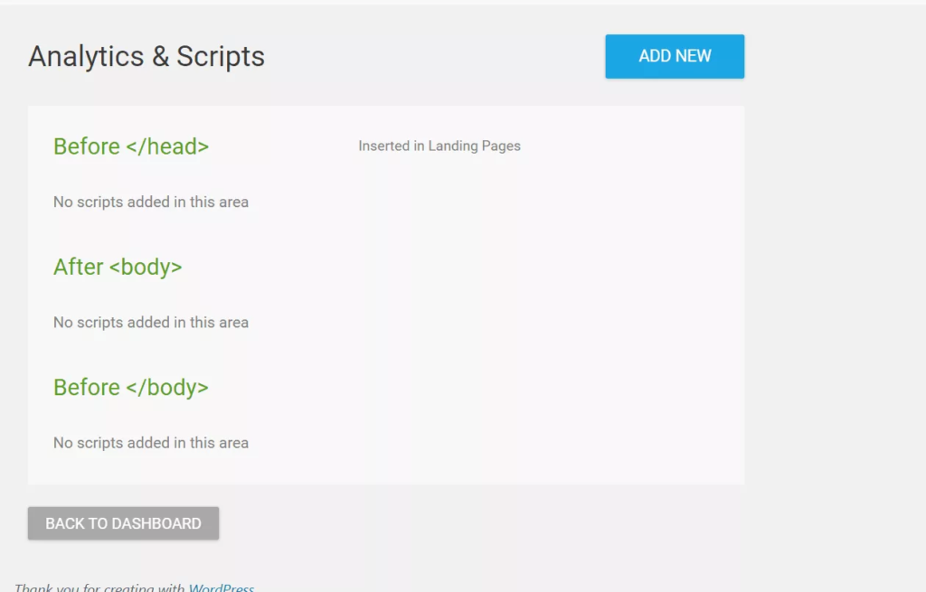 Thrive Product Dashboard Scripts