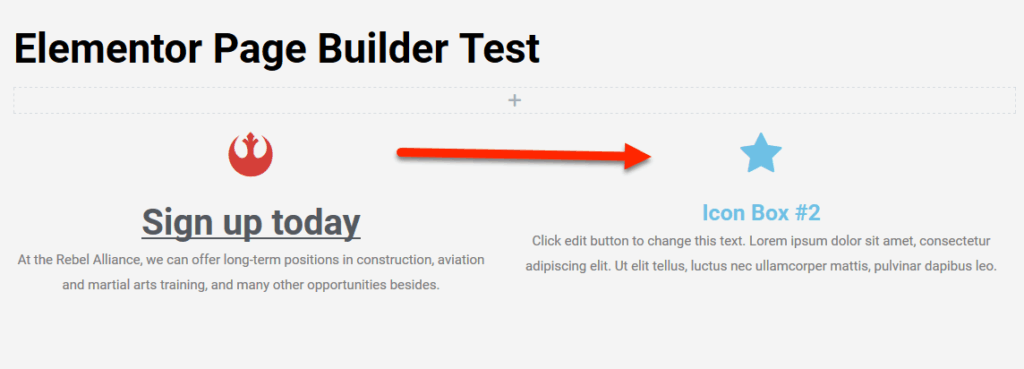 how to copy icon box style in Elementor