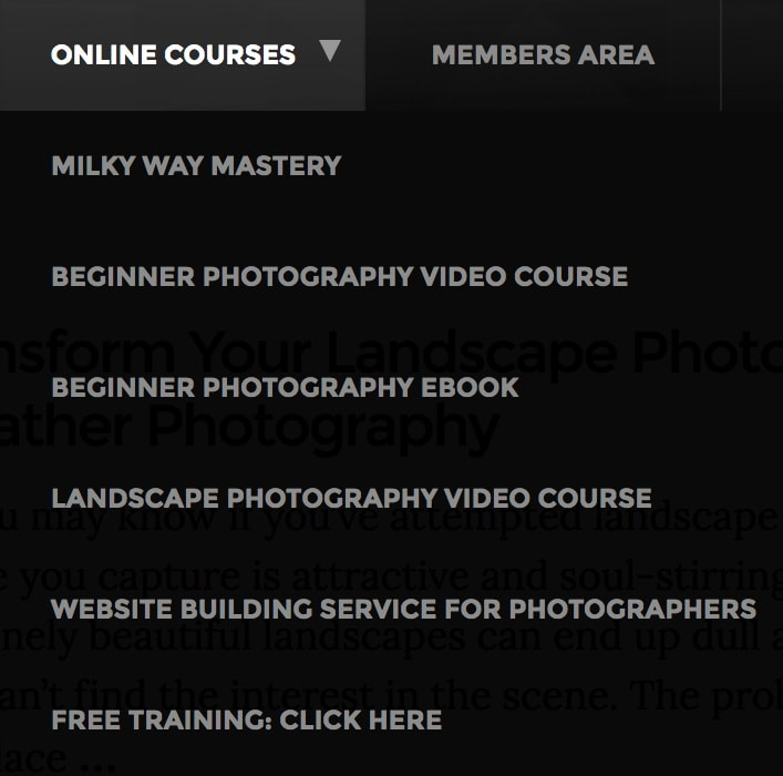 Expert Photography Online Courses