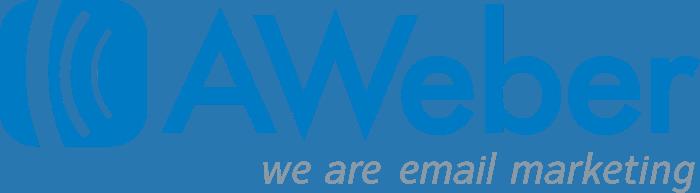 Logo Aweber blu