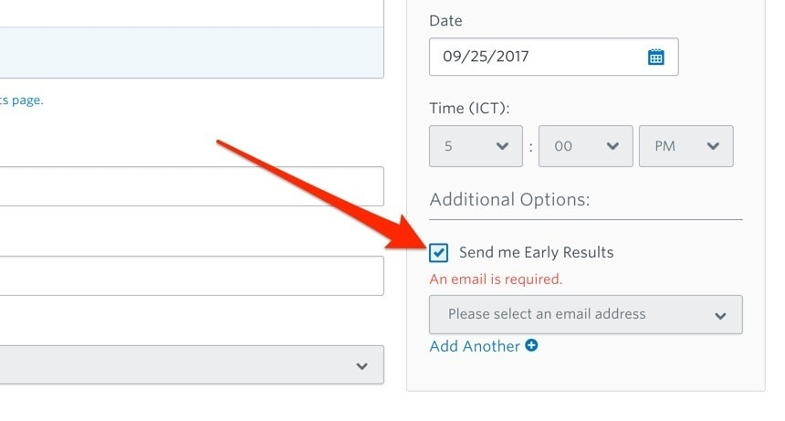 Constant Contact Early Results Reporting