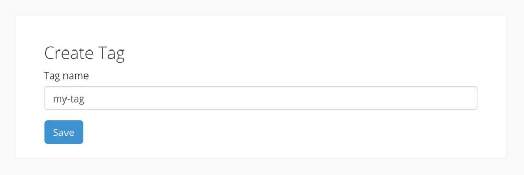 ConvertKit Create Tag