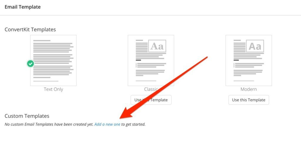 ConvertKit Custom Email Template