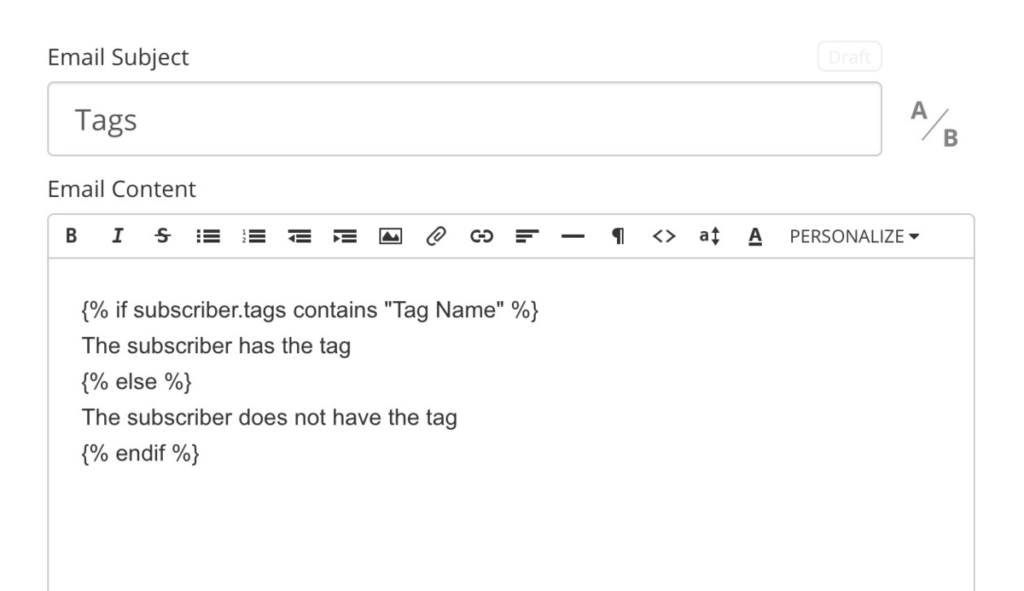 ConvertKit Dynamics Emails with Merged Tags