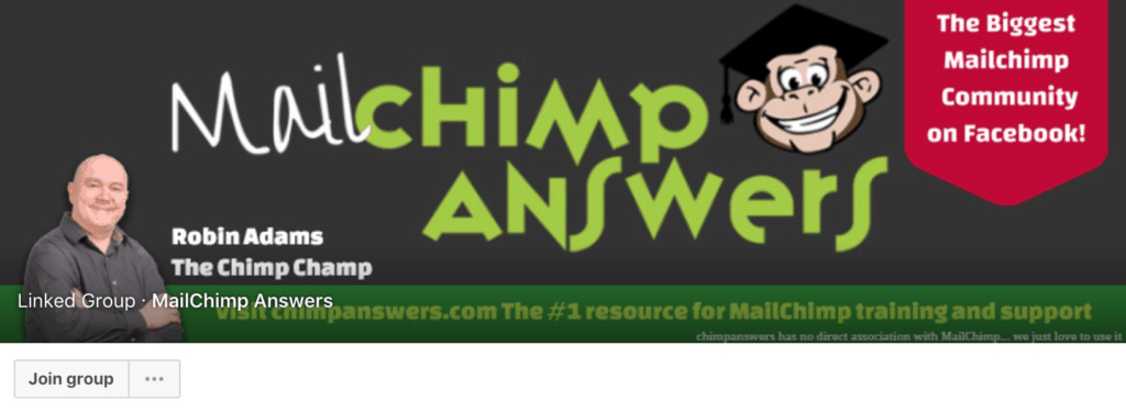 MailChimp Answers Facebook Community Group