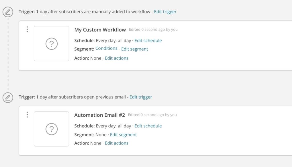 MailChimp Automation System