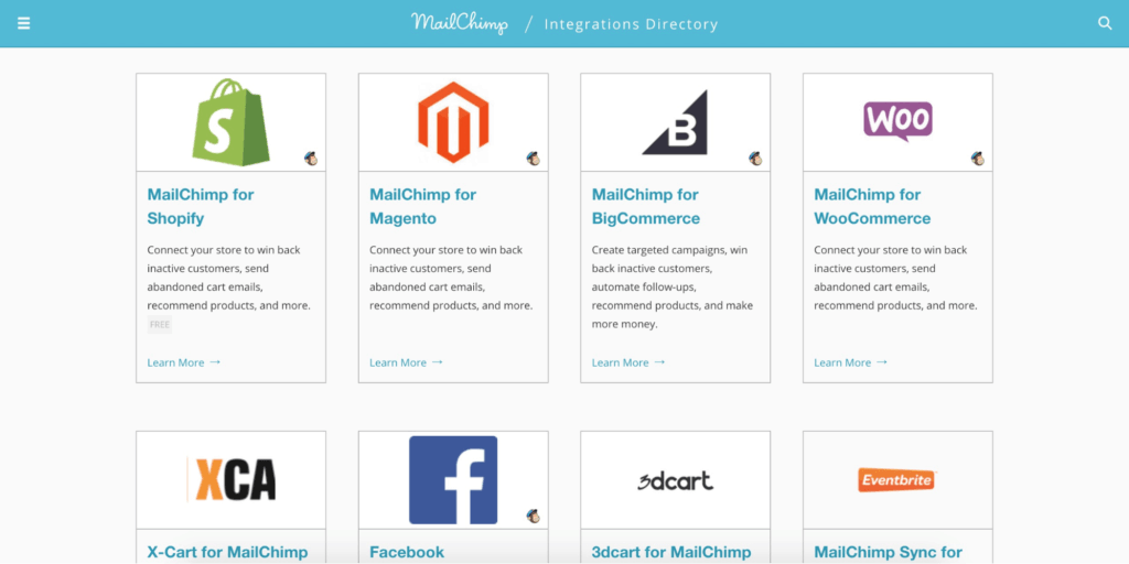 MailChimp Integrations
