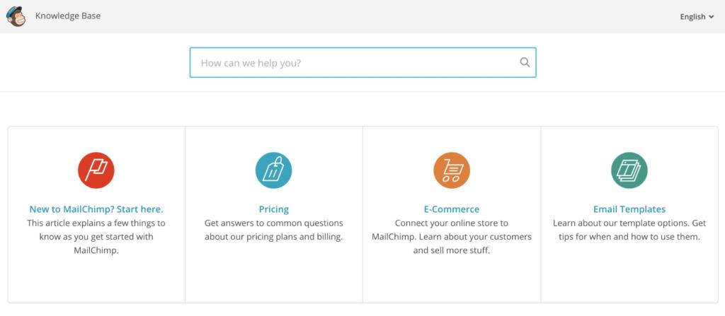MailChimp Knowledge Base