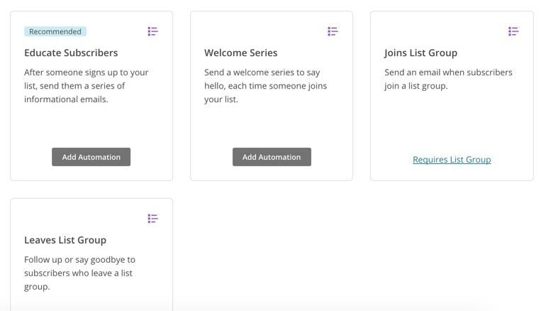 MailChimp Workflow Recipes