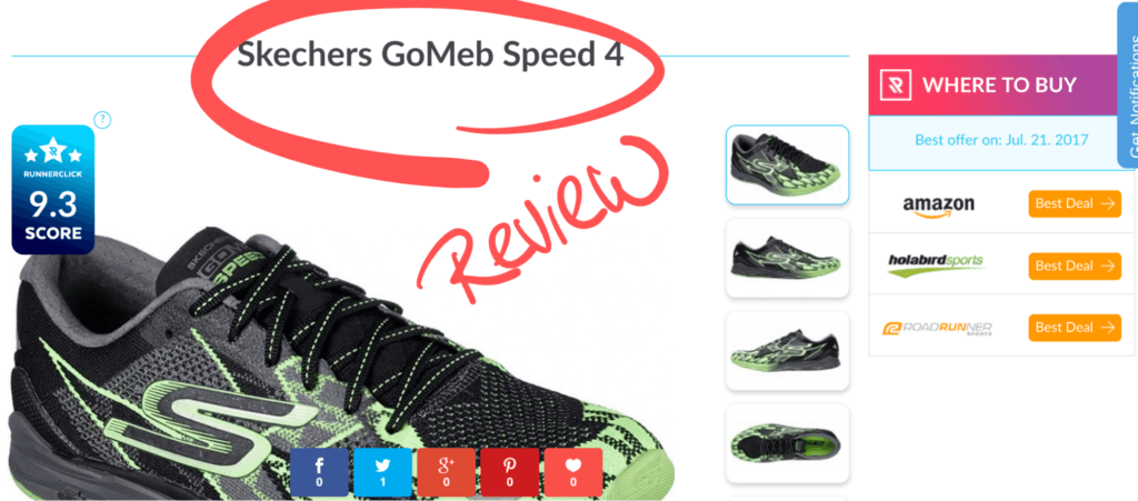 Runner Click product review