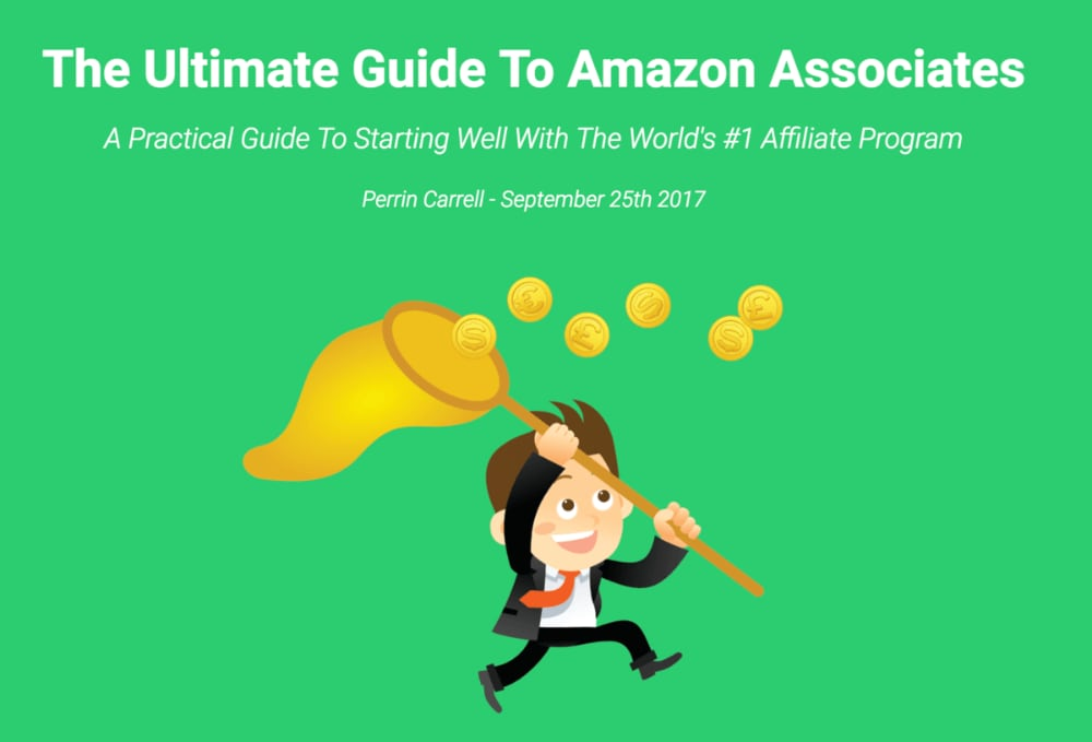 Long form content: Ultimate Guide to Amazon Associates