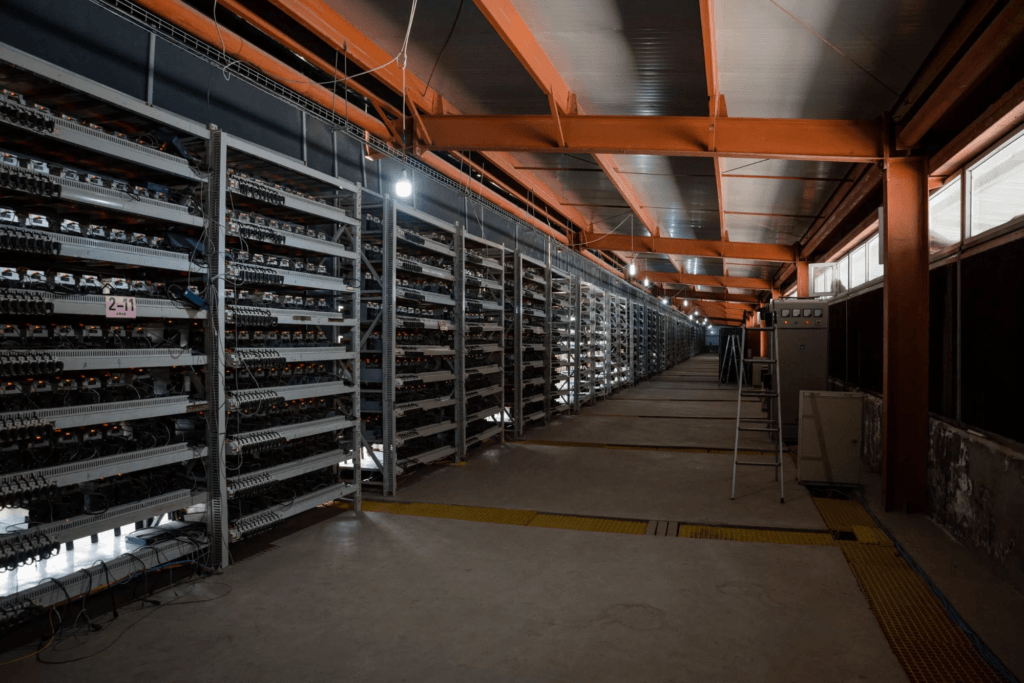 Bitcoin Mine SanShabgLiang China