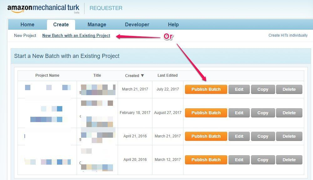 Mturk Features
