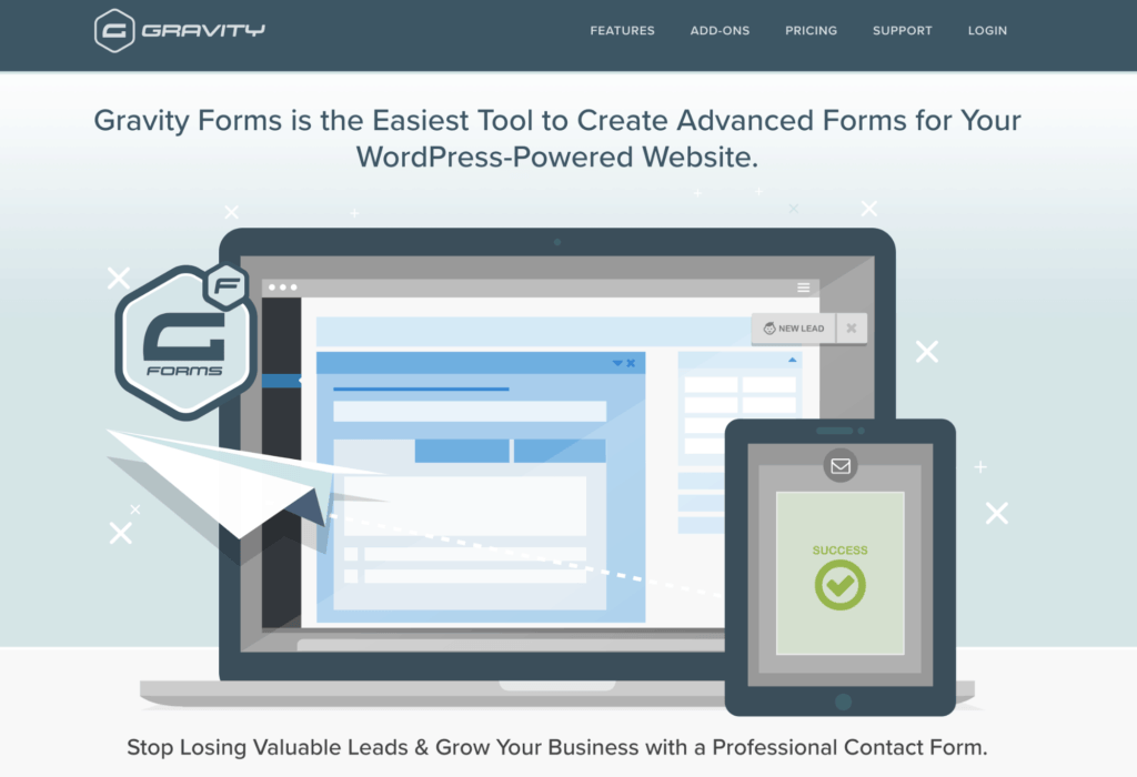 Gravity Forms WP Plugin