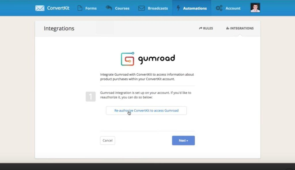 GumRoad Integrations