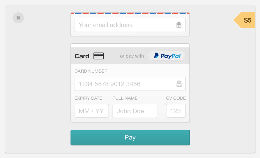 GumRoad Payment Methods