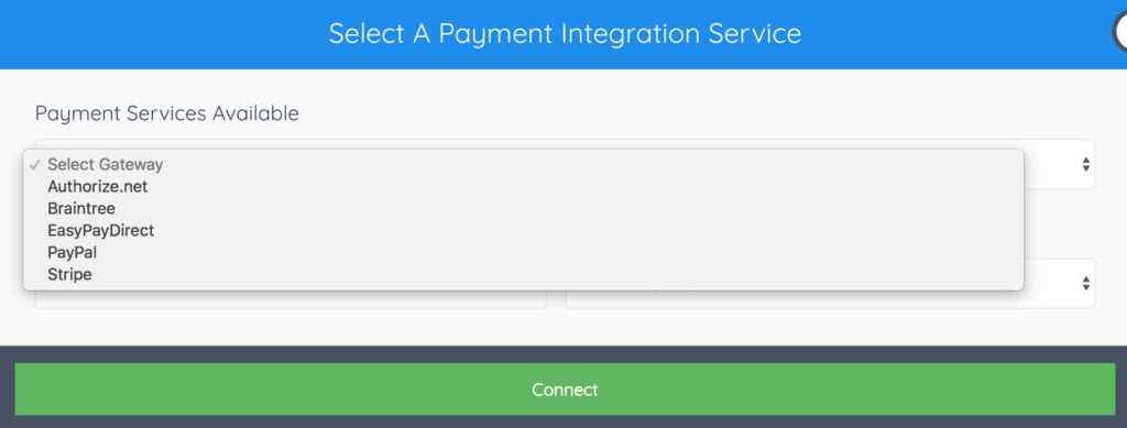 PayKickStart Payment Methods