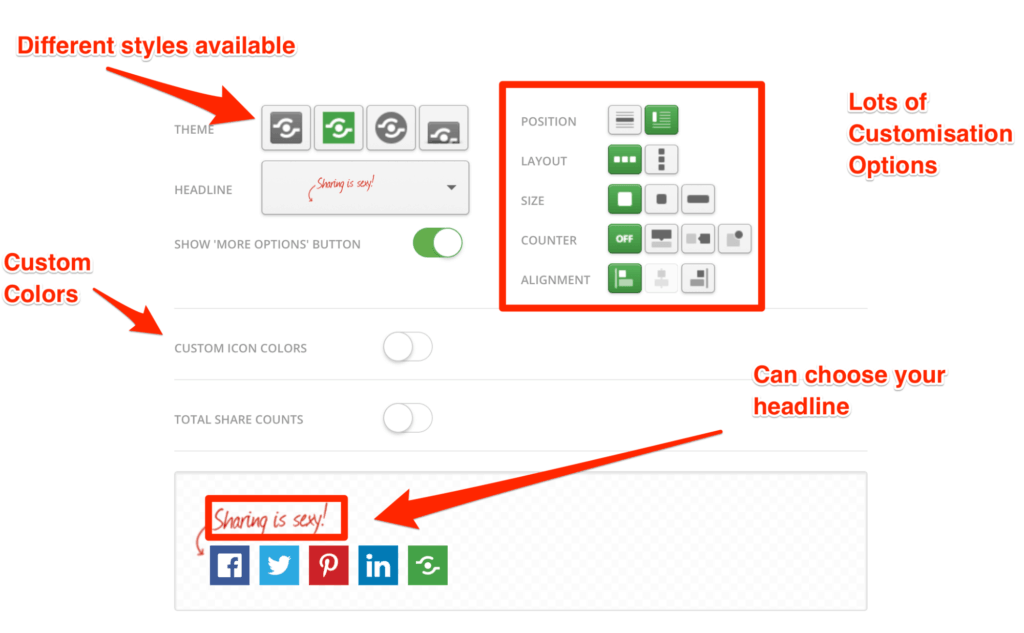 Shareaholic Social Share Plugin