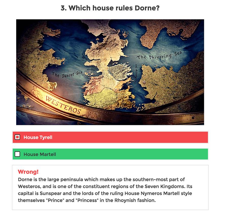 WP Viral Quiz Example