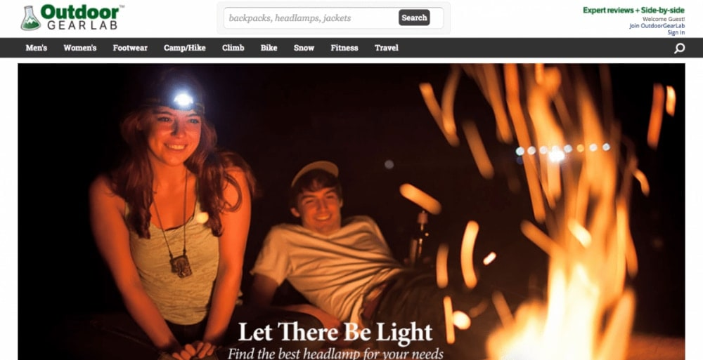 Outdoor Gear Lab Homepage