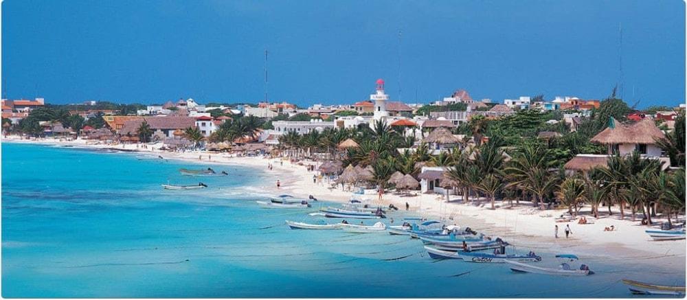 Playa del Carmen Air View