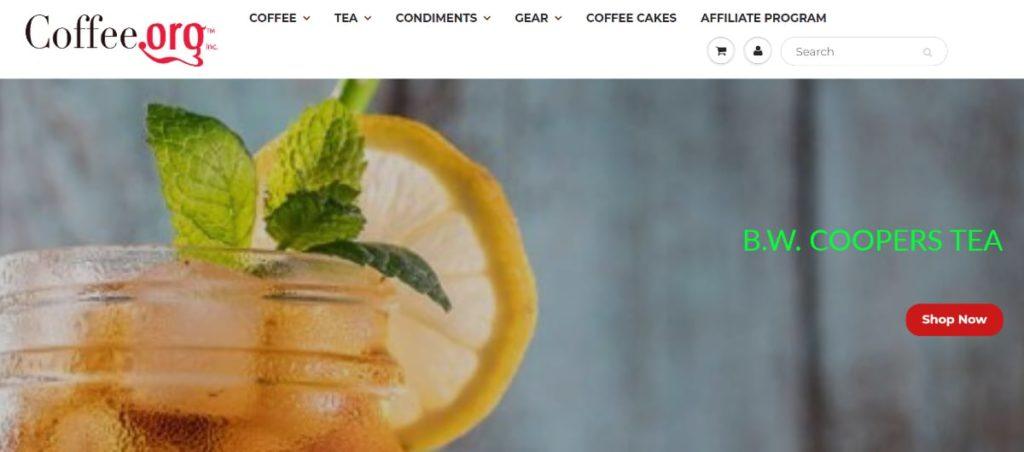 Coffee Org Homepage