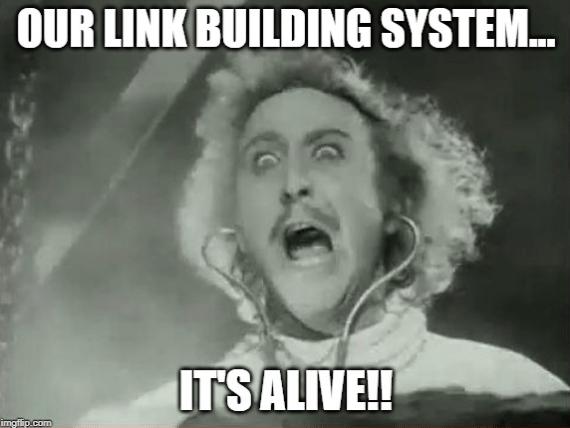 Link Building System Alive