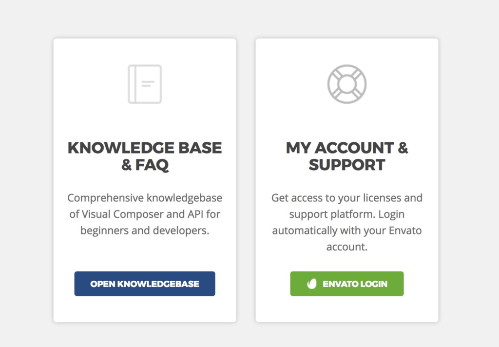 Visual Composer Support