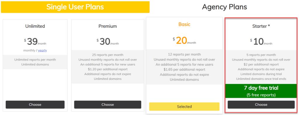 Pageoptimizer Pro Pricing
