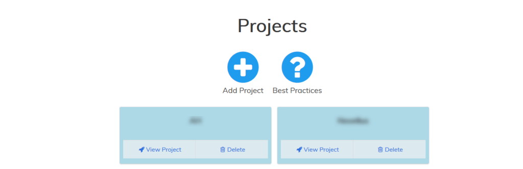 Project-based Organization Something else we like about Page Optimizer Pro is that you have to create a project for every keyword or domain you analyze.
