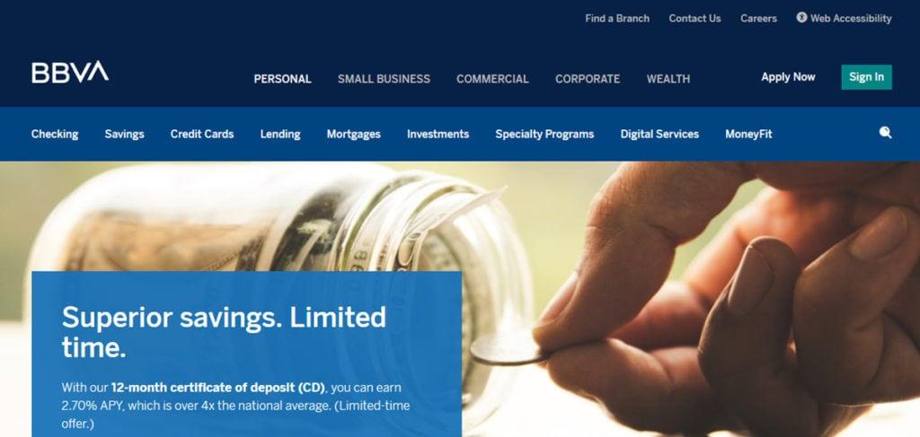 Bbva Banks Homepage